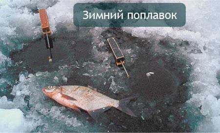 Зимний поплавок