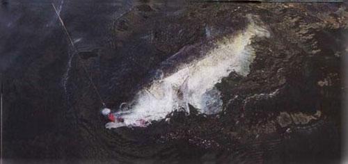ловля судака по первому льду