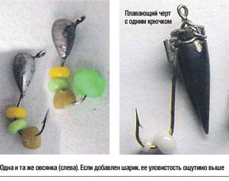 ловля рыбы на пустые крючки