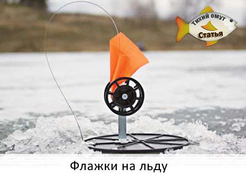 Флажки на льду