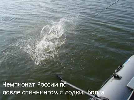 Чемпионат России по ловле спиннингом с лодки
