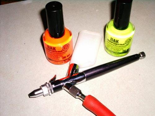 Своими руками распылитель для краски