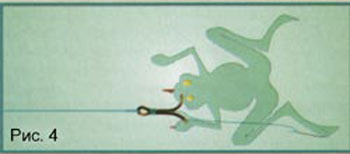ловить лягушку донка