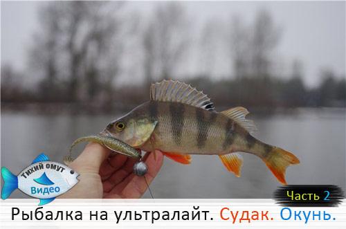 Рыбалка на ультралайт. Судак. Окунь. Часть 2.