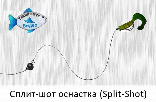 Сплит-шот оснастка (Split-Shot)