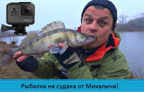 Рыбалка на судака от Михалыча!
