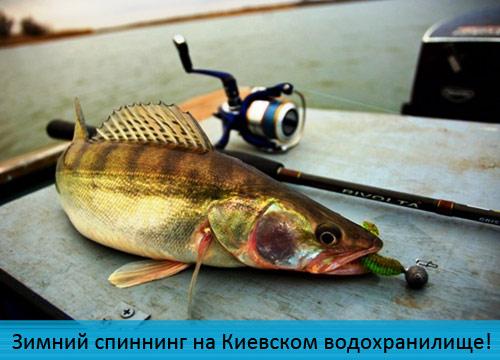 Зимний спиннинг на Киевском водохранилище!