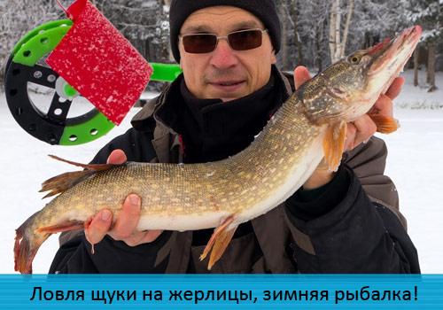 Ловля щуки на жерлицы, зимняя рыбалка!
