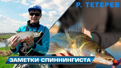 Весенняя спиннинговая рыбалка на реке Тетерев!