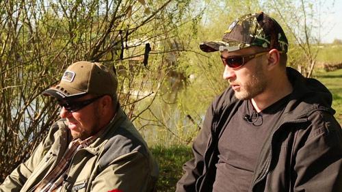 Ловля карася и карпа на озере