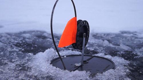 ПЕРВЫЙ ЛЁД!!! Расставили жерлицы и вот что из этого вышло! Зимняя рыбалка 2 ...