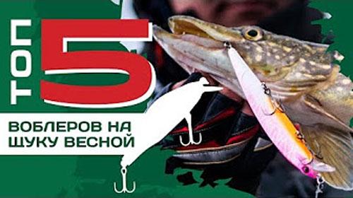 ТОП 5 воблеров на щуку с лодки весной от Павла Лясоцкого