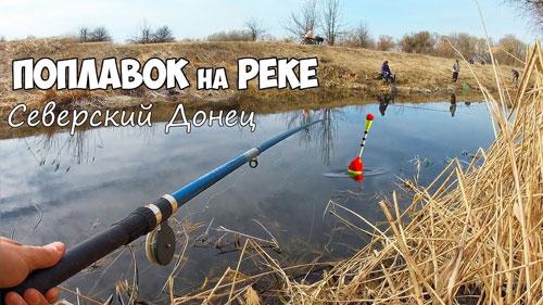 Ловля на удочку весной! Рыбалка на поплавок в камышах.