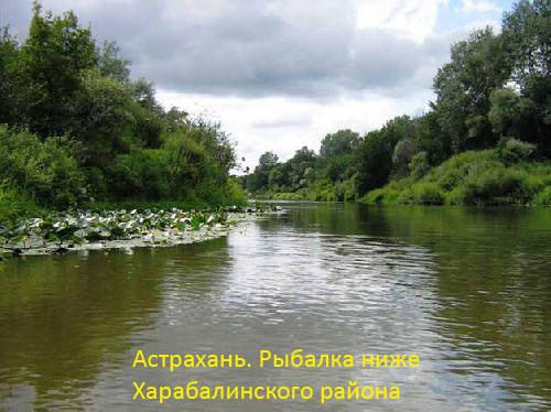 Астрахань. Рыбалка ниже Харабалинского района