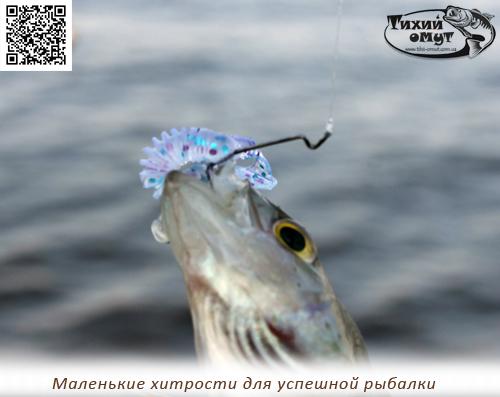 Маленькие хитрости для успешной рыбалки
