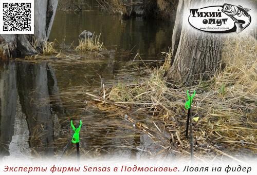 Эксперты фирмы Sensas в Подмосковье. Ловля на фидер