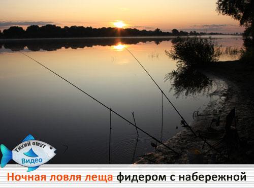 ловить рыбу ночью с фонарем и сочком